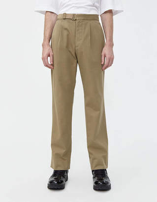 Maison Margiela Strapped Waist Chino Pant in Beige