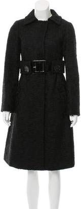 Giambattista Valli Bouclé Wool Coat