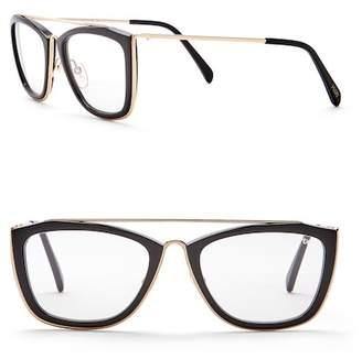 Emilio Pucci 53mm Metal Sunglasses