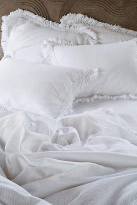 Anthropologie Matelasse Liora Duvet Cover
