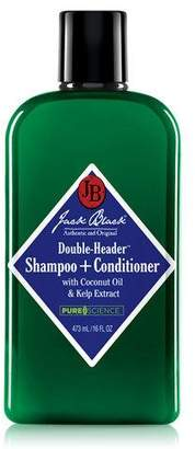Jack Black Double-Header Shampoo+Conditioner, 16 oz.