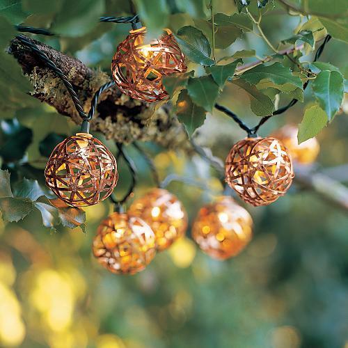 Copper Nest Light String