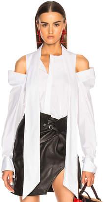 Monse Cold Shoulder Shirt