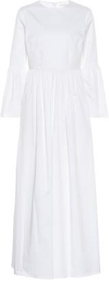 The Row Sora stretch cotton poplin dress