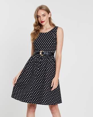 Forcast Roselie Polkadot Dress