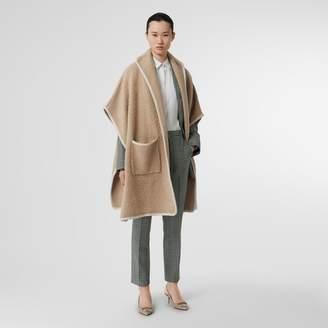 Burberry Wool Fleece Cape