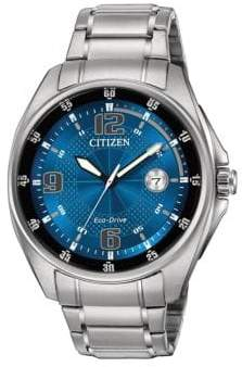 Citizen Eco-Drive Men's Stainless Steel Bracelet Watch