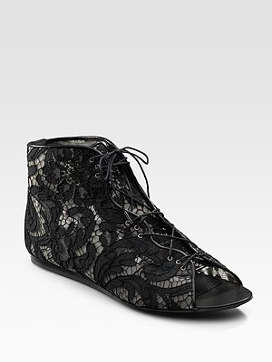 Givenchy Lace Booties