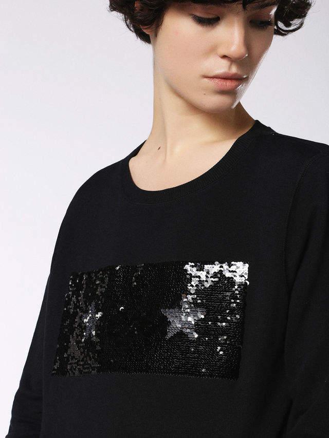 Diesel Sweatshirts 0CASA - Black - S