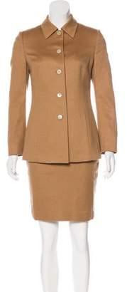 Agnona Cashmere Skirt Suit