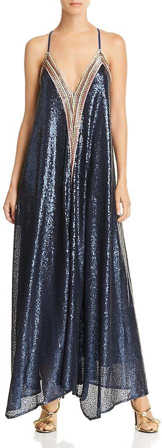 Happily Grey x Sequined Maxi Dress - 100% Exclusive