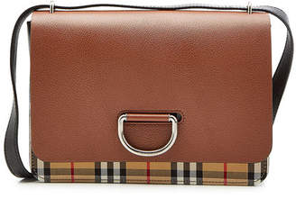 at STYLEBOP.com · Burberry Medium Shoulder Bag with Leather and Checked  Fabric 2bc702ccc3a68