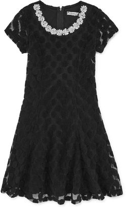 Speechless Short Sleeve Party Dress - Big Kid Girls $58 thestylecure.com