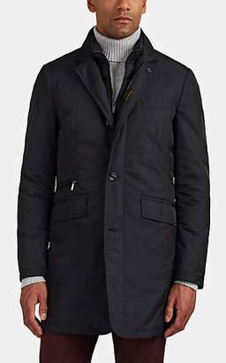 Moorer Men's Shinjuku 2-In-1 Raincoat - Navy