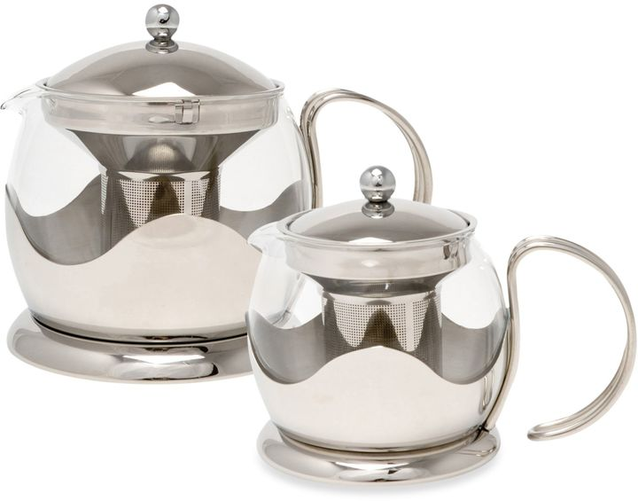 La Cafetiere 4-Cup Stainless Steel Le Teapot