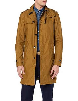 Sisley Men's Trench Coat(Size: 54)