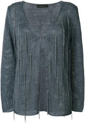 Fabiana Filippi embellished knitted cardigan