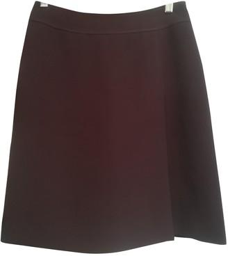 Cacharel Burgundy Skirt for Women Vintage