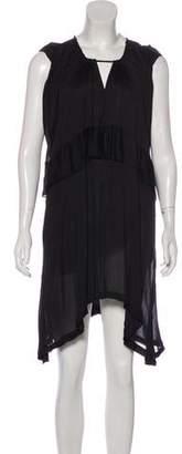 IRO Cold-Shoulder Knee-Length Dress