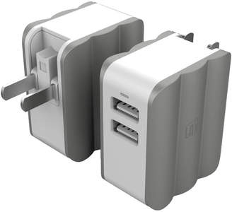 LAX Gadgets Lax Gadgets Rapid Dual Usb Wall Charger Adapter