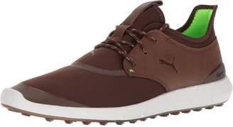 Puma Men's Ignite Spikeless Sport Golf Shoe, Peacoat Silver White, 9.5 Medium US