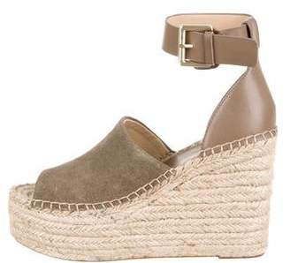 Marc Fisher Suede Wedge Sandals w/ Tags