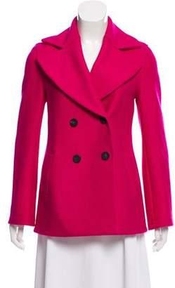 Harris Wharf London Double-Breasted Short Coat