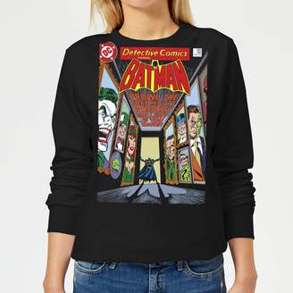 Batman The Dark Knight's Rogues Gallery Cover Women's Sweatshirt