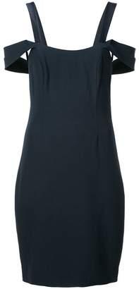 Halston off-the-shoulder dress