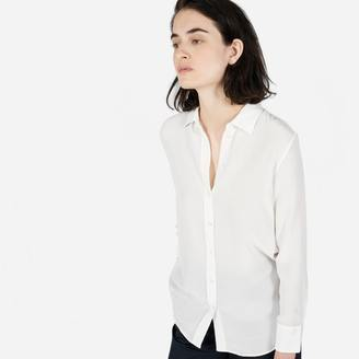The Relaxed Silk Shirt