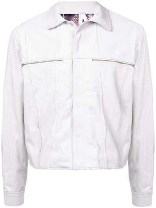 Cottweiler zipped chest pocket jacket