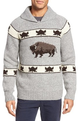 Men's Schott Nyc Cowichan Pullover Sweater $145 thestylecure.com