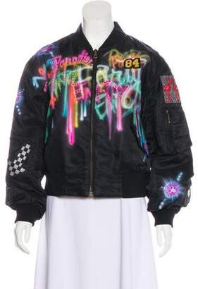 Marc Jacobs 2017 Airbrushed Bomber