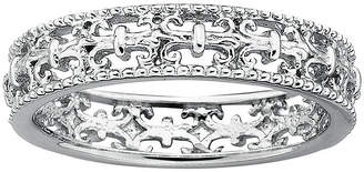 JCPenney FINE JEWELRY Personally Stackable Sterling Silver Fleur-De-Lis Stackable Ring