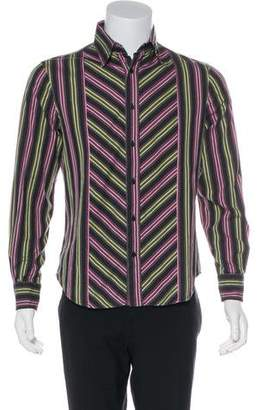 Just Cavalli Striped Casual Shirt