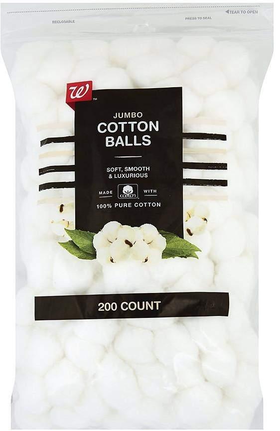Walgreens Beauty Jumbo Cotton Balls