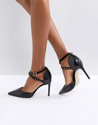 Carvela Acidic Studded Heeled Shoes