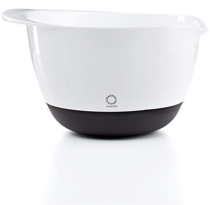 Martha Stewart Collection 5-Qt. Non-Skid Mixing Bowl