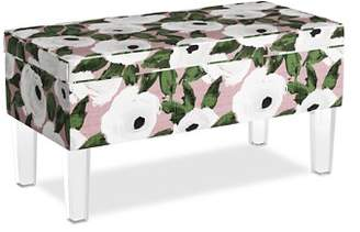 Sparrow & Wren Collins Storage Bench With Acrylic Legs - 100% Exclusive