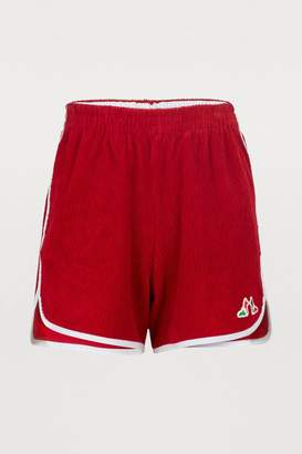 MAISON KITSUNÉ Renards shorts