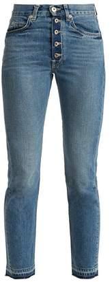 Silver Bullet Eve denim Eve Denim High Rise Straight Leg Jeans - Womens - Denim
