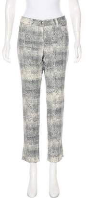 Chanel Mid-Rise Straight-Leg Jeans Mid-Rise Straight-Leg Jeans
