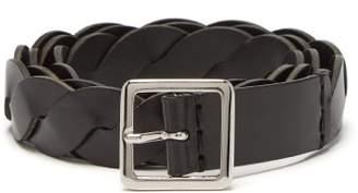 Isabel Marant - Deo Braided Leather Belt - Mens - Black