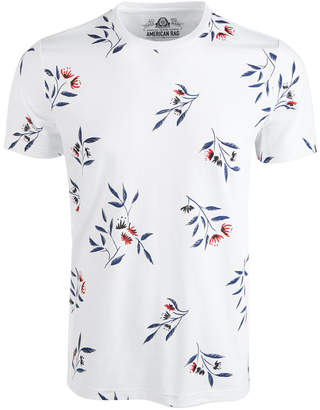 American Rag Men Wall Floral Graphic T-Shirt