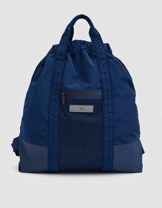 adidas by Stella McCartney Multifunctional Gym Sack in Mystery Blue