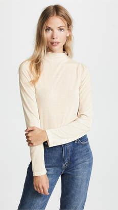 Line & Dot Thila Mock Neck T-Shirt