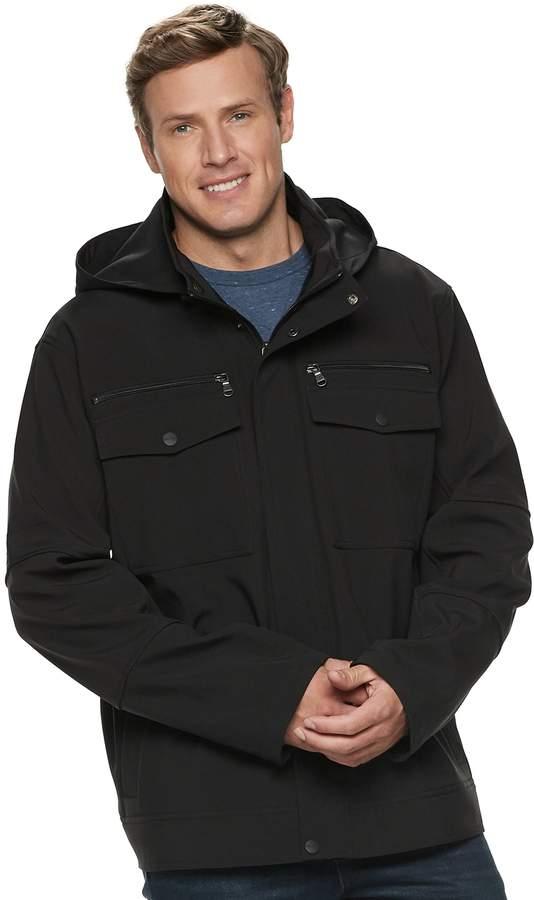 Big & Tall Urban Republic Hooded Softshell Jacket