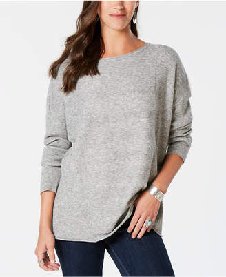 Style&Co. Style & Co Mixed-Rib Sweater, Created for Macy's