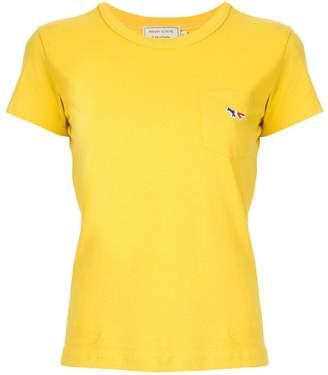 MAISON KITSUNÉ fox pocket T-shirt