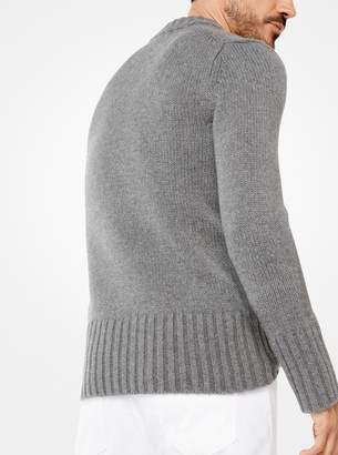Michael Kors Cashmere Ribbed Pullover